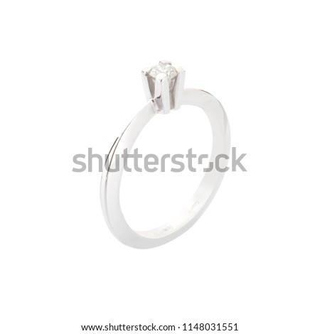 engagement ring with diamond #1148031551