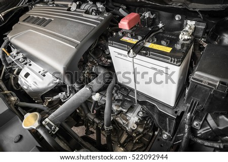 Engine car 4 cylinder