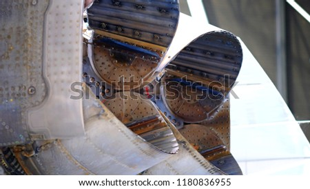 Engine Concorde, Aircraft, Fuselage, Aeronautics, Close-up, Aviation, Metal, Wings, Engine, Propeller, Tiller