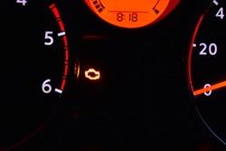 engine management light