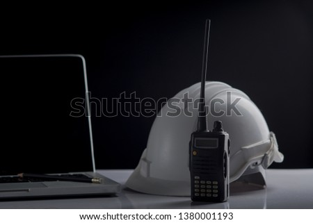 Engineer desk,Engineer concept #1380001193