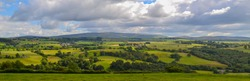 England Countryside Panorama