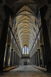 England, Salisbury, Cathedral