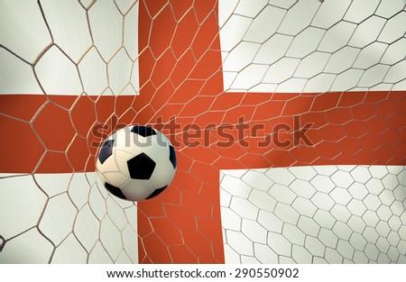 England soccer ball Color Vintage #290550902