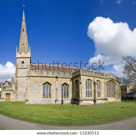 england worcestershire the historic market town of evesham Church of All Saints
