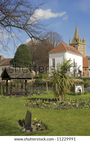 england worcestershire the historic market town of evesham Church of All St Lawrence