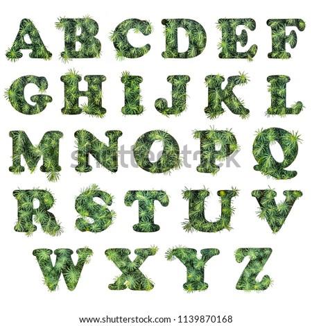 English alphabet A to Z Images and Stock Photos - Avopix com