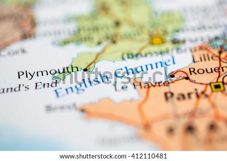 English Channel ストックフォト ©