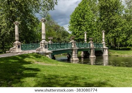Free photos english garden jardin anglais 1817 famous for Jardin anglais chantilly