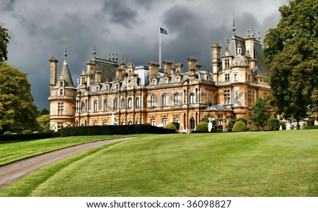 English manor house, England