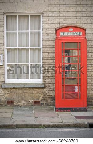 English phone booth, Suffolk UK