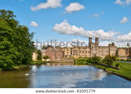 English public school - stock photo