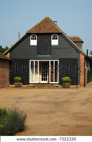 English Restored Barn converted to Modern House