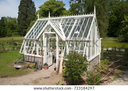 english style greenhouse