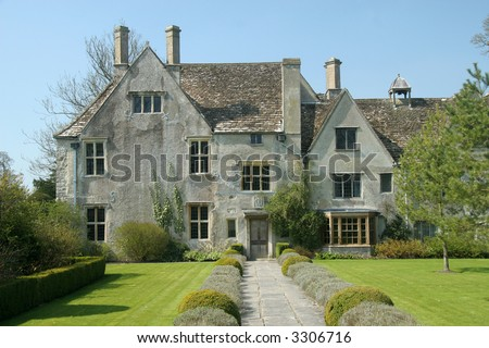 English Tudor country house dating back to sixteenth Century