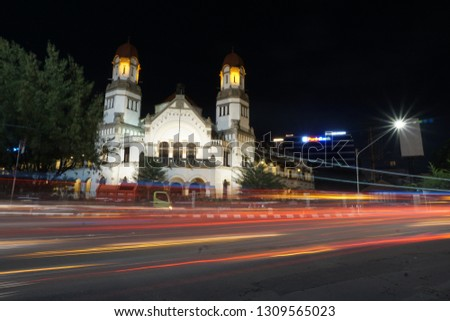 enjoy the night and capture the landmarks of Semarang city with friends. January 2018 #1309565023