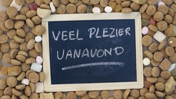 Enjoy this evening written in Dutch for Santa Claus in the Netherlands