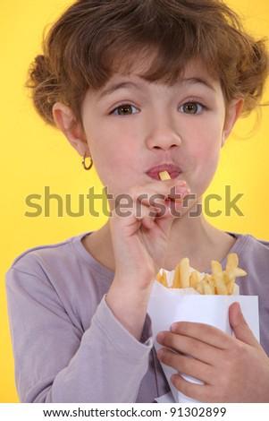 Enjoying my freedom fries