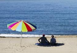 Enjoying the last rays of summer in Redondo Beach, California