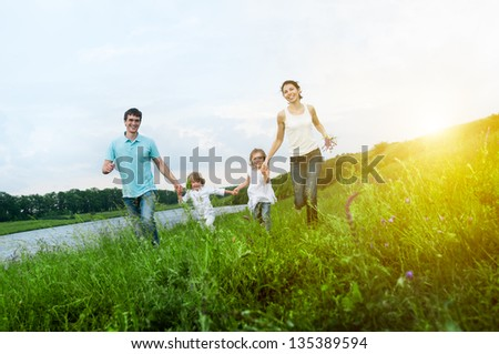 enjoying the life together - Shutterstock ID 135389594