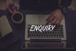 ENQUIRY AND WORKPLACE CONCEPT