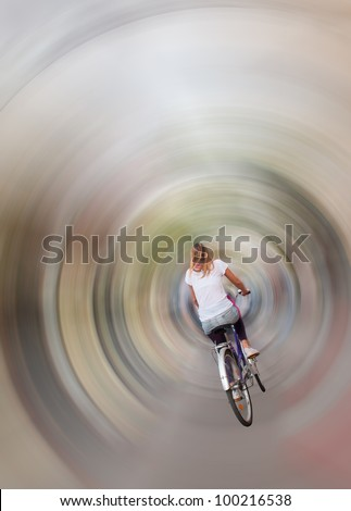 Entering the time tunnel