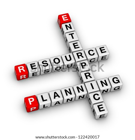 Enterprise Resource Planning (ERP) crossword puzzle