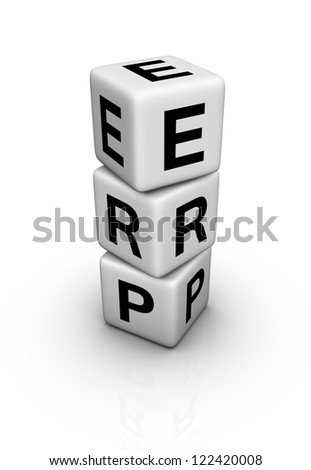 Enterprise Resource Planning System (ERP) symbol