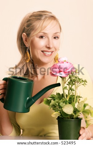 enthusiastic clip art. stock photo : Enthusiastic