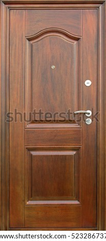 Entrance door (metal door) #523286737