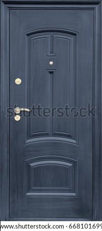Entrance door (metal door) #668101699