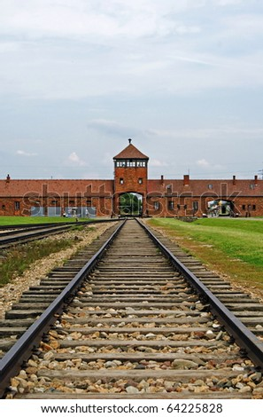 extermination camps in poland. to concentration camp