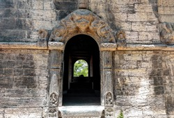 Entrance to the old Hindu temple from Nepal.