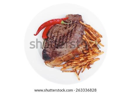 entree   grill beef meat steak...