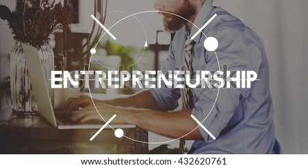Entrepreneurship Business Person Start Up Concept #432620761