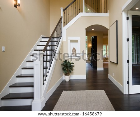 Entryway in Luxury Home