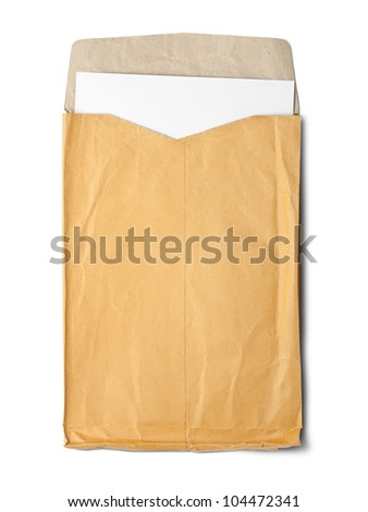 Envelope documents - stock photo