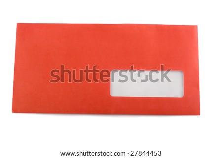 envelope red
