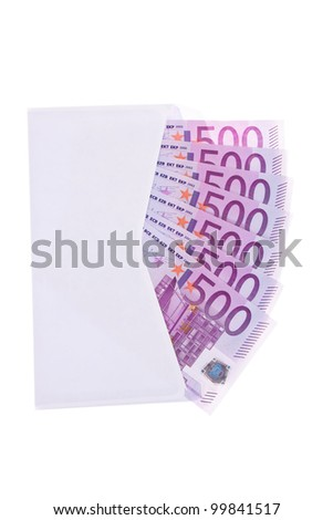 envelope with lots of �¢â���¬ banknotes