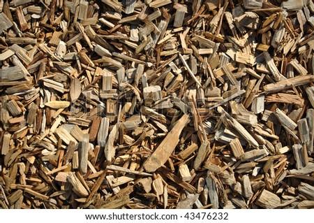 Environmental Organic Wood Chip Background