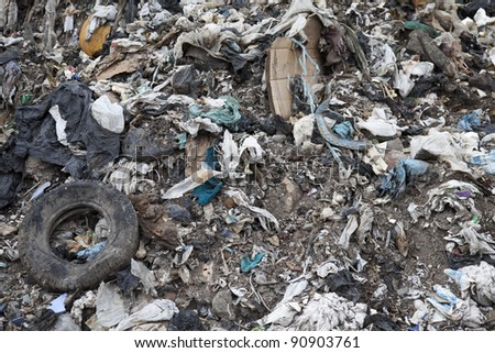 Environmental pollution - stock photo
