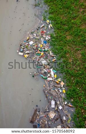 Environmental pollution, Manaus, Amazonas, Amazon River, Brazil
