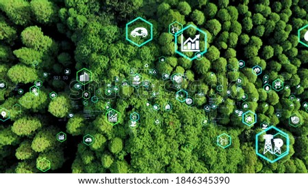 Environmental technology concept. Sustainable development goals. SDGs. Stock photo ©