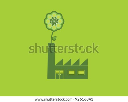 Environmentally friendly industry building