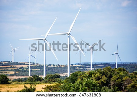 eolic park renewable and...