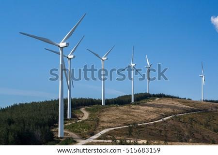 eolic wind generators on top of ...