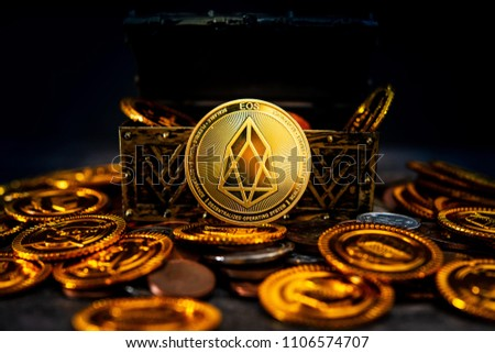 EOS.IO Crypto currency was found in the treasure box