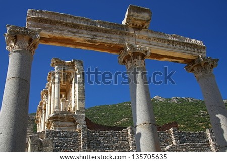 Ephesus - old library