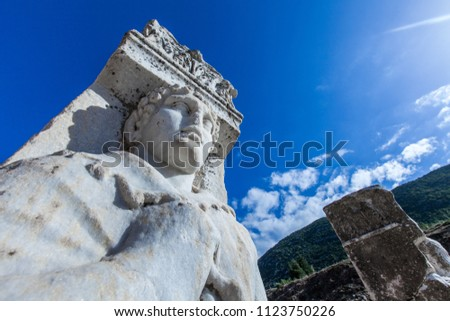 Ephesus temple (Ephesus was an ancient Greek city on the coast of Ionia, three kilometres southwest of present-day Selçuk in İzmir Province, Turkey. It was built in the 10th)