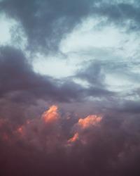 Epic cloudy sky holy sun light